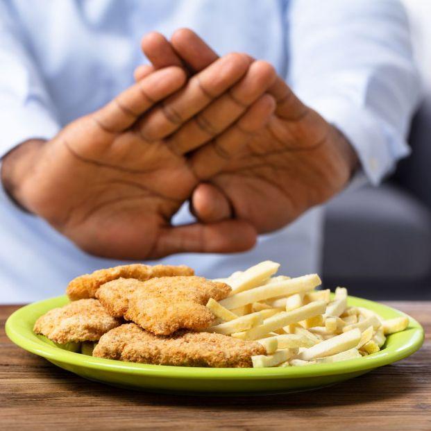 Rechazar comida