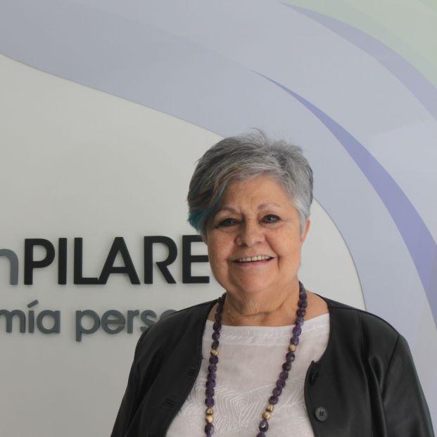 La presidenta de la Fundación Pilares para la Autonomía Personal, Pilar Rodríguez.