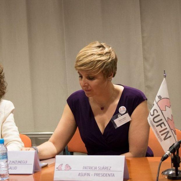 Patricia Suárez, presidenta de Asufin