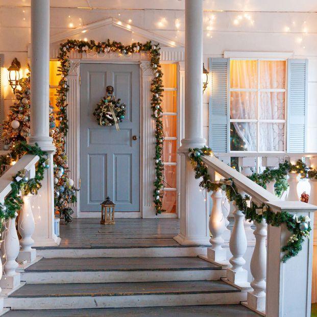 Con esta decoración navideña tu casa será tendencia Foto: bigstock