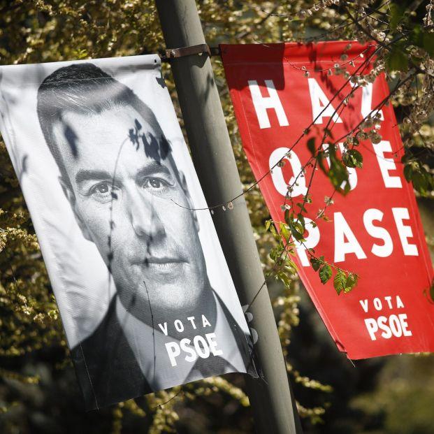 Cartel del PSOE.