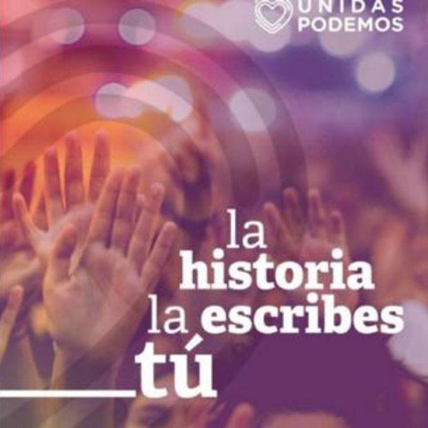 Cartel Podemos.
