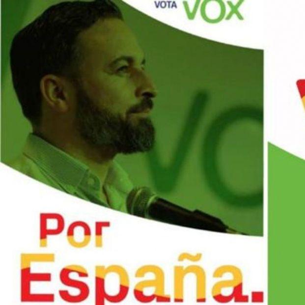 Cartel de VOX.